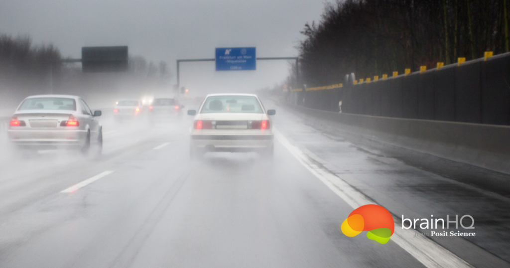 Safer driving by improving visual processing