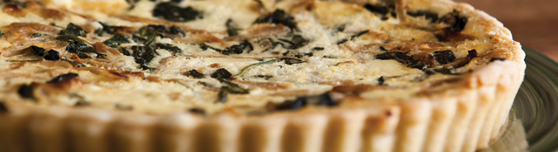 Spinach & Caramelized Onion Tart