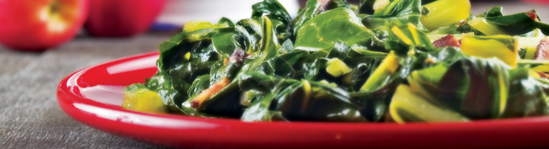 Lemony Collard Greens