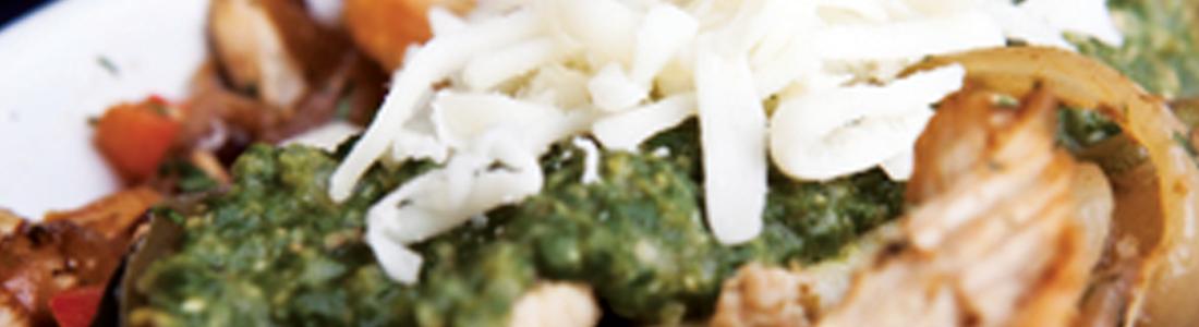 Chicken & Pecan Enchiladas