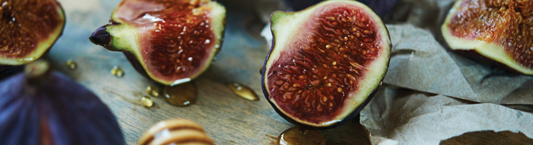 Yogurt with Honey Baked Figs