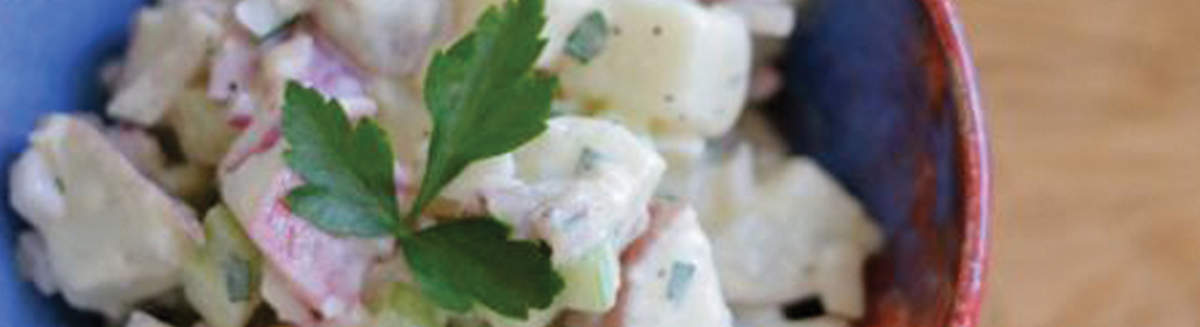 Potato Salad with Yogurt Vinaigrette