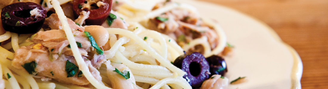 Quick Italian Tuna & Olive Pasta