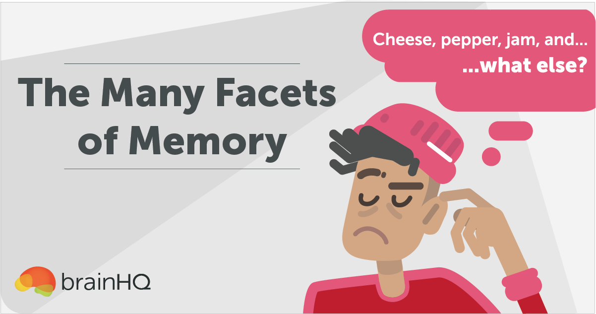BrainHQ Academy: The Many Facets of Memory